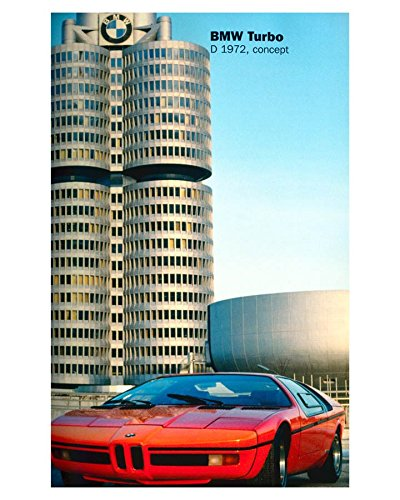 Amazon.com: 1972 BMW Turbo Concept Automobile Photo Poster: Entertainment Collectibles