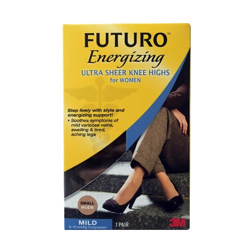 Futuro Futuro Mild Compression Knee Highs - Beige - Small
