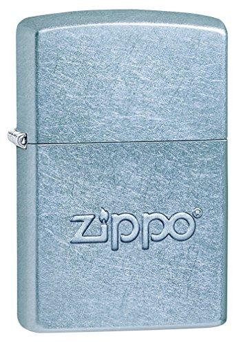 Zippo Stamped Street Chrome Pocket Lighter by Zippo