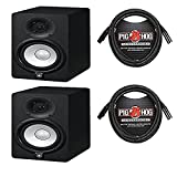 Yamaha HS5 Studio Monitor (Pair) With Free Deluxe 10FT XLR Cables