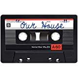 Funny Door Mats Welcome Doormat Our House Cassette