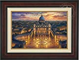 Thomas Kinkade - Vatican Sunset 18'' x 27'' Standard Number (S/N) Limited Edition Canvas (Burl)