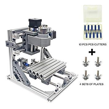 Wisamic DIY CNC Fräsmaschine 1610 GRBL , Arbeitsbereich 160 * 100 ...