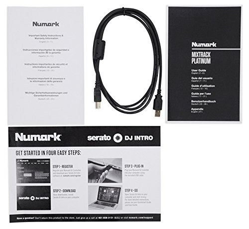 Numark Mixtrack Platinum | 4-channel DJ Controller With 4-deck Layering and Hi-Res Display for Serato DJ by Numark (Image #7)