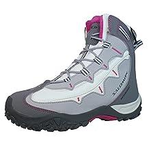 Salomon Stenson TS WP Womens Hiking Boots / Shoes - White & Grey