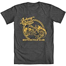 "GEEK TEEZ Ghost Rider Inspired ""Johnny Blaze Motorcycle Club"" Boys' T-Shirt"