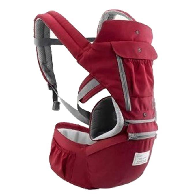 Mochila portabebés, mochila transpirable y multifunción para bebés ...