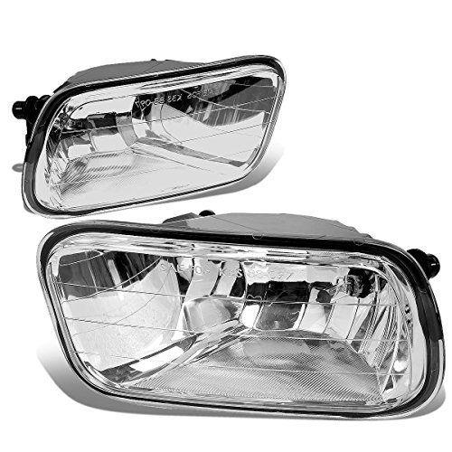 For Dodge Ram DS/DJ Pair of Bumper Driving Fog Lights (Clear Lens)