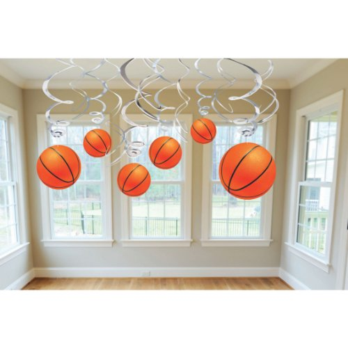 Basketball Swirl Party