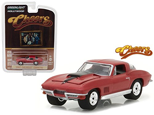 Maisto 1967 Chevrolet Corvette Sting Ray Cheers (1982-93 TV Series) Hollywood Series 17 1/64 Model Car by Greenlight