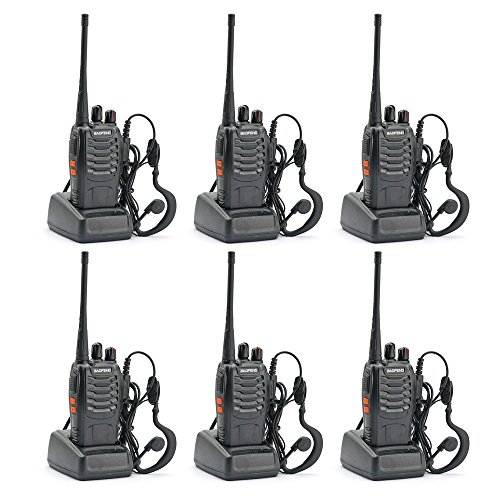 BaoFeng BF-888S Two Way Radio (Pack of 6pcs radios) - Customize Package by BaoFeng