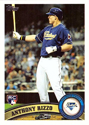 2011 Topps Update Baseball #US55 Anthony Rizzo Rookie Card