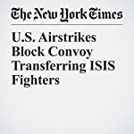 U.S. Airstrikes Block Convoy Transferring ISIS Fighters | Rod Nordland