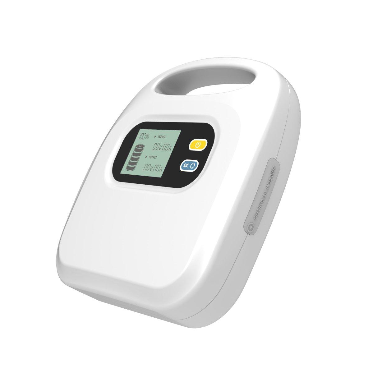 MAXOAK Power Pack External Battery Charger for CPAP/ BiPAP Machine (82500mAh,12V/15V/24V,4A) …