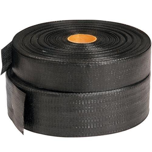 LEONARD Batten Strapping Polypropylene Webbing, Black (1....