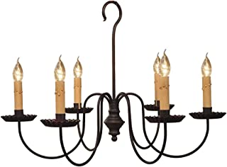 product image for Wilcox Chandelier - Handcrafted in USA - Black
