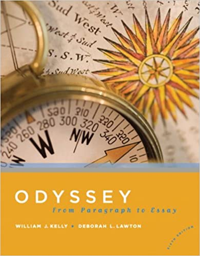 Odyssey from paragraph to essay 6th edition