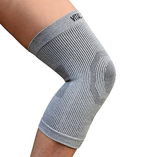 Vital Salveo-Compression Recovery Knee Sleeve/brace C3-COMFORT, Pain Relief, Protects Joint - Ideal for Sports and Daily Wear (Large) -
