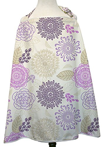 - The Peanut Shell Nursing Cover, Dahlia