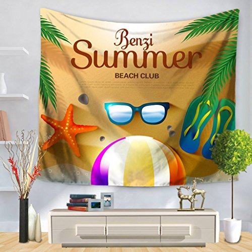 (YQ Park Cartoon Summer Sunglasses Series Home Decor Tapestries Wall Art Wall Hanging For Bedroom Living Room Dorm 10)
