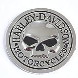 "2.7"" motorcycle 3d Logo Chrome Emblem Badge Sticker Self Adhesive Badge Decal for harley davidson"