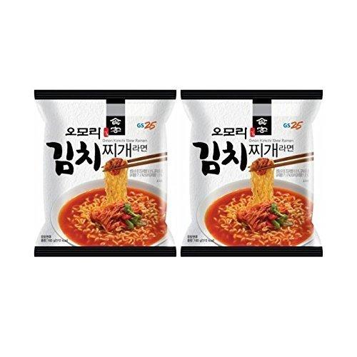 Korean Hot and Spicy Best Noodle (Omori Kimchi Stew Ramen - 2 - Soup Kimchi