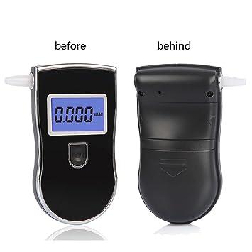 DXMCC Probador De Alcohol, Probador De Alcohol De Pantalla con Sensor De Semiconductor, Probador