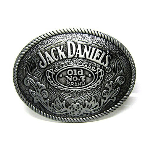Classic Old No.7 Beer Belt Buckle Rodeo Floral Western