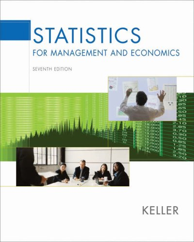 Statistics for Management and Economics (with CD-ROM and InfoTrac) (Available Titles CengageNOW)