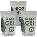 Eco Gel Port-A-Potty and Emergency Toilet Chemicals, Eco-Friendly Liquid Waste Gelling and Deodorizing Powder. 3 Pack