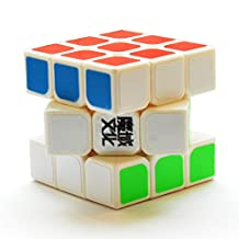 Dayan 3x3x3 MoYu YJ Weilong White Speed Cube Puzzle