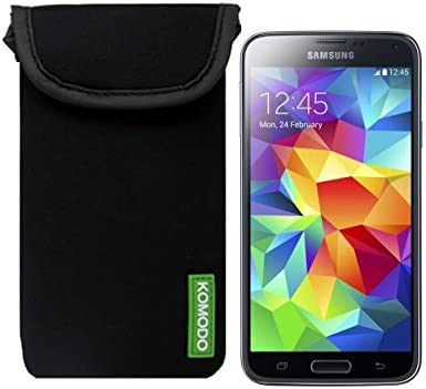 Komodo Neoprene Phone Case for Samsung Galaxy Smartphone Padded Cover Sock Pouch Galaxy S4