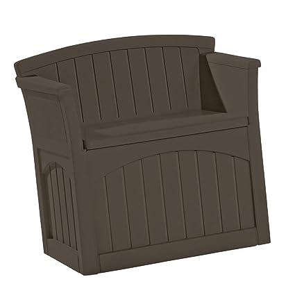 Amazon.com: Suncast - Asiento de almacenamiento para terraza ...