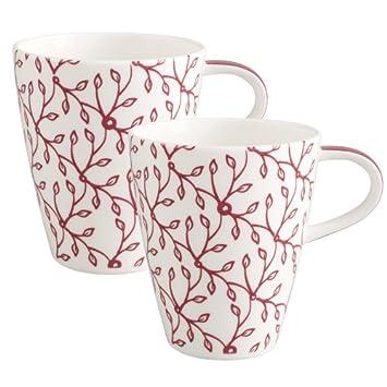 Villeroy Boch Caffè Club Floral Berry Becher Mit Henkel 2