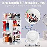 Miserwe Makeup Organizer 360 Degree Rotation 7
