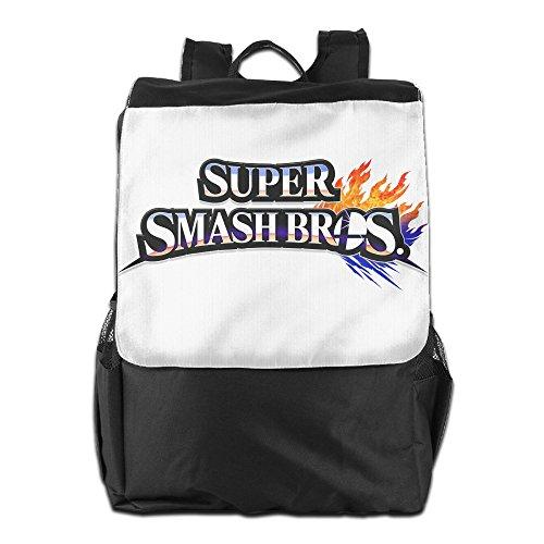 YUVIA Super Smash Bros. For Wii U Men's&Women's Sports Hiking Outdoor Students School Gym Workout Travel Journey Business Trip Shoulder Backpacks
