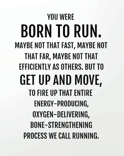 You were born to run maybe not that fast, maybe not that far, maybe not that efficiently as others. But to get up and move, to fire up that entire ... verses lined notebook series) (Volume 10) (Run Far Run Fast)