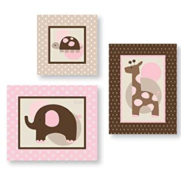Amazon.com : Lambs and Ivy Wall Décor, Emma : Nursery Wall Decor : Baby
