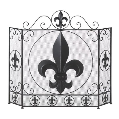 Decorative Attractive Fireplace Screen Home Fireplace Décor