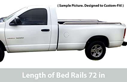 Truck Side Rails >> Amazon Com Tyger Stainless Steel Pickup Truck Bed Side
