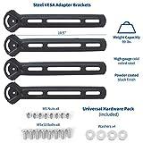 VIVO Steel VESA Mount Adapter Plate Brackets for