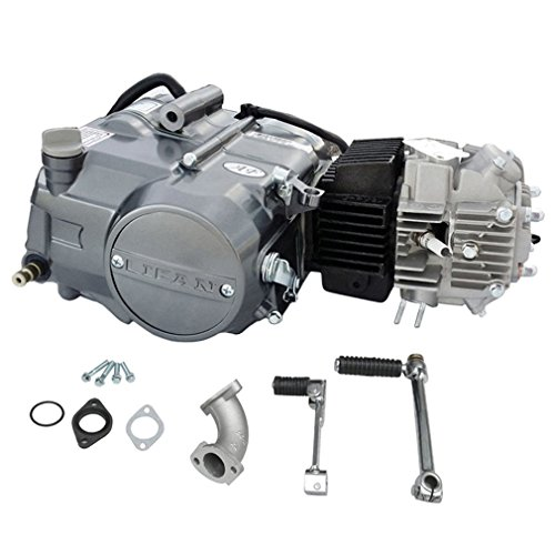 ZXTDR Lifan 125cc Engine Motor for Honda XR50 CRF50 XR CRF 50 70 ATC70 SDG SSR 110 ATC70 Z50 CT70 CL70 SL70 XL ST70 Dirt Pit Bike Kawasaki Apollo Motorcycle ()