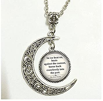 Charm Croissant De Lune Pendentif De Gatsby Le Magnifique