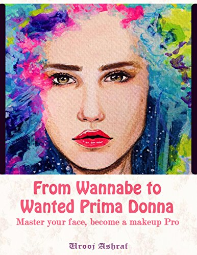 From Wannabe to Wanted Prima Donna - A Guide to learn Basic makeup, tricks and hacks for skin improvement within days with celebrity inspired makeup tutorials: Master your face, Become a Makeup Pro