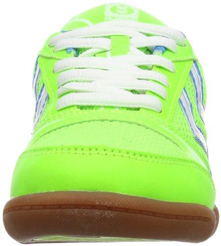 Hummel ROOT JR - Zapatillas deportivas para interior de material sintético infantil verde - Grün (Green Gecko 6595)