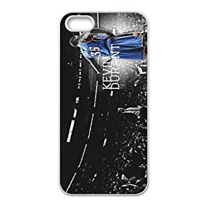 Thunder Team Kevin Durant Custom Design Apple Iphone 5 5s Hard Case Cover phone Cases Covers