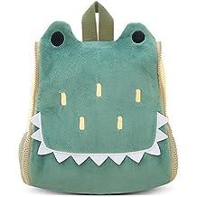 BELK Little Boys' Girls' Animal Backpack Toddler School Bag with Bottle Holder