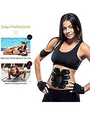 Letmetry Electroestimulador Muscular Abdominales Cinturón,Masajeador Eléctrico Cinturón con USB,Entrenador Inalámbrico Portátil de 6 Modos de Simulación,10 Niveles Diferentes para Abdomen/Cintura.