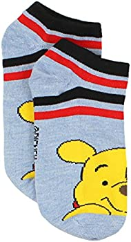 Winnie the Pooh Girls Womens 6 pack Socks Toddler//Little Kid//Big Kid//Teen//Adult