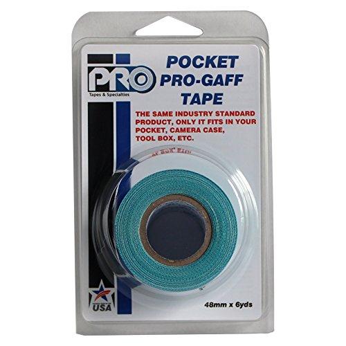 ProTapes PRO Pocket Gaff Tape, Verde azulado